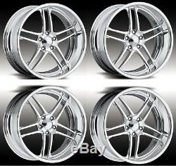 18 Custom Forged Pro Billet Wheels Rims Intro Foose Staggered Forged American