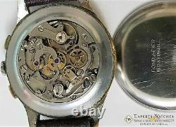 1950s Serviced Vintage Officers Lemania Chronograph cal 1270 (320 / 321) Watch