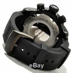 6051 Invicta Reserve Venom 52mm Swiss Quartz Chronograph Black Dial Strap Watch
