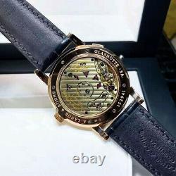 A. Lange&Sohne Lange 1 115.031 18K Pink Gold 41.9mm Hand-wound Men's Watch