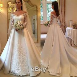 A Line Wedding Dresses V Neck Bridal Gowns Plus Size 0 2 4 6 8 10 12 14 16 18 20
