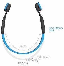 AfterShokz Trekz Titanium Bone Conduction Bluetooth Wireless Headphones Ocean
