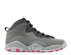 Air Jordan 10 Retro X PINK GREY SMOKE BLACK 487211-006 2.5 or 8.5