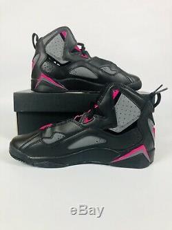 Air Jordan True Flight VII Black Grey Pink 342774-009 Size 7Y New