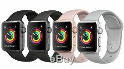 Apple Watch Series 2 42mm (Gray/Black, Gold/White, Silver/White, Rose Gold/Pink)