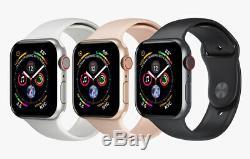 Apple Watch Series 4 40 / 44mm 4G Cellular Aluminum Case Smart Watch