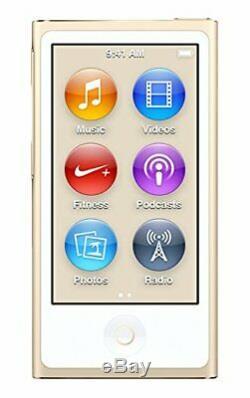 Apple iPod Nano 7th 8th Generation 16GB Gold Blue Silver Gray Black Purple Pink