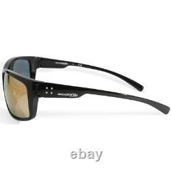 Arnette Fastball 2.0 AN4242 41/4Z Polished Black/Grey Pink Mirror Sunglasses