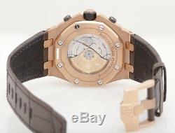 Audemars Piguet Royal Oak Offshore Chronograph 42mm 18K Pink Gold Grey Dial
