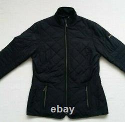 Barbour International Farleigh Quilted Jacket-Black, Grey, Pink Size US4 MSRP$219