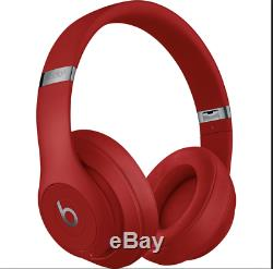 Beats by Dre Studio3 Wireless Headphones Matte Black/White/Red/Blue/Gray NIB