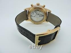 Beautiful Mint Condition Tiffany & Co 18K Rose Gold Chronograph Watch REF# CT60