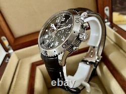 Breguet Marine Type XXI Flyback Chronograph -3810ST- S/Steel 43mm Box/Papers