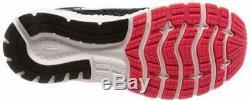 Brooks Women's Glycerin 16 Running Shoe, Black/Pink/Grey, 7.5 B(M) US