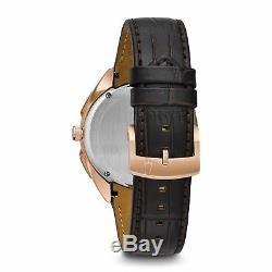 Bulova 97A124 Men's Curve collection Rose gold Quartz Watch