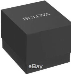 Bulova 98B212 Precisionist Chronograph Black Dial S/Steel Tachymeter Msrp $895