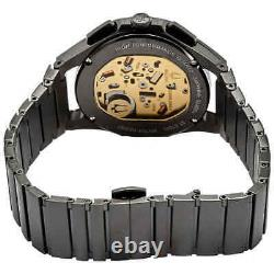 Bulova CURV Chronograph Quartz Black Dial Men's Watch 98A207