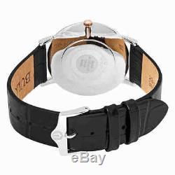 Bulova Classic Grey Dial Black Leather Men's Watch 98A167