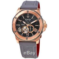 Bulova Marine Star Automatic Grey Dial Men's Watch 98A228