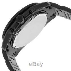 Bulova Marine Star Men's 98B231 Quartz Chronograph Black Bracelet 34mm Watch