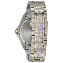 Bulova Men's Quartz Precisionist Date Calendar Grey Dial 42mm Watch 98B273