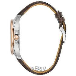 Bulova Men's UHF Precisionist Quartz Rose Gold Case 43mm Wrist Watch 98B267