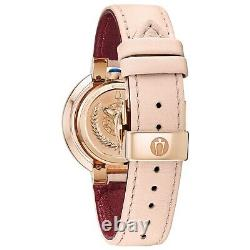 Bulova Rubaiyat Women's Quartz Diamond Accents Rose Gold Tone 35mm Watch 98R267