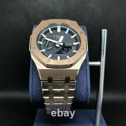 CASIO G-SHOCK GA-2100 Royal Oak MOD Metal Custom Gold