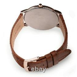 CITIZEN AR1133-15A Eco-Drive Stilleto Super Thin Calf Leather Band Men's Watch