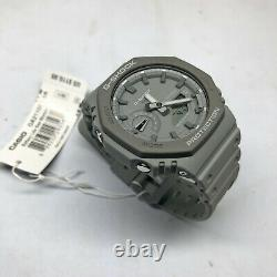 Casio G-Shock CasiOak Grey Carbon Core 2100 Series GA2110ET-8A Watch GA-2110