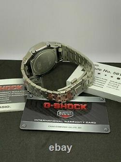 Casio G-shock Watch Ga2100 Casioak Ap Style Royal Oak Stainless Bracelet Combo