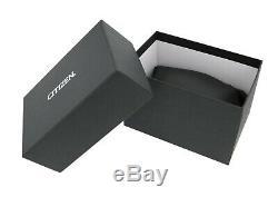 Citizen Eco-Drive Corso Men's Rose Gold Accents Black Dial 44mm Watch BU2070-55E