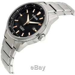 Citizen Men's AW1490-50E Chandler Titanium Silver-Tone Bracelet 42mm Watch