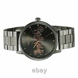 Coach 14502924 Grand Grey Stainless Steel Rose Gold Women's Watch