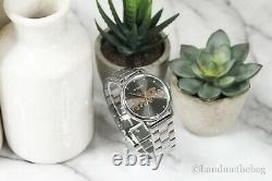 Coach (14502924) Women's Grand Gunmetal Stainless Steel Logo Dial Wrist Watch