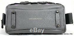Coach 1941 Tea Rose Rogue 25 Handbag Shoulder Bag Gray Black Pink 58840