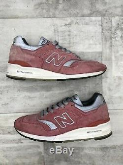 Concepts & New Balance M997CPT Rose Pink Silver White Grey Black Casual Size 8.5