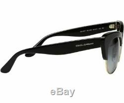 DOLCE & GABBANA Sunglasses Cat-Eye DG4277 501 8G Black Grey Gradient 52 mm SC5