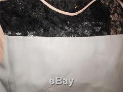 DVF Diane Von Furstenberg AINSLEE Lace Blouse Top Moonlight Grey Pink Black $245