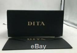 Dita Mach-One DRX-2030 L-BLK-RGD Black / Gold Sunglasses Grey Gradient AR