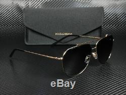 Dolce & Gabbana DG2190 12968G BLACK PINK GOLD GREY BLACK 59mm Women's Sunglasses