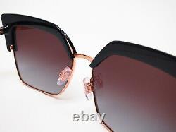 Dolce & Gabbana DG 6126 501/8G Black/Pink Gold withGrey Gradient Sunglasses