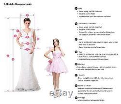 Elegant Lace Appliques Wedding Dresses Long Mermaid Bridal Gown Custom Made