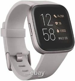 Fitbit Versa 2 Health and Fitness Smartwatch NEW Versa2 PinkPurpleGrayBlack