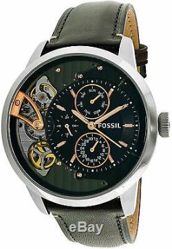 Fossil Men's Townsman ME1163 Brown Leather Japanese Quartz Fashion Watch