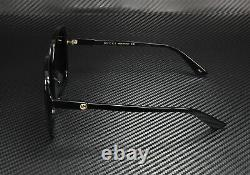 GUCCI GG0533SA 001 Square Black Shiny Black Grey 56 mm Women's Sunglasses