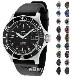Glycine Men's Combat Sub Swiss Made Automatic 42mm Watch Choice of Color