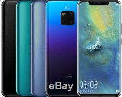 Huawei Mate 20 Pro LYA-L29 128GB (FACTORY UNLOCKED) 6.39 Blue Gray Mocha Pink