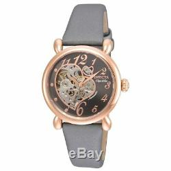 Invicta 22649 Gent's Black Dial Dark Grey Strap Automatic Watch