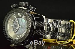Invicta Men's Watch Bolt 17434 Classic Swiss Black Mother Of Pearl Dial SS Band